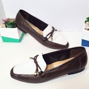 Enzo Angiolini Leather Loafers High Quality sz 6.5
